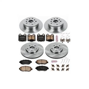Brakes - Disc Brake Pad and Rotor Kit - Power Stop - Autospecialty By Power Stop 1-Click Daily Driver Brake Kits | Power Stop (KOE1079)