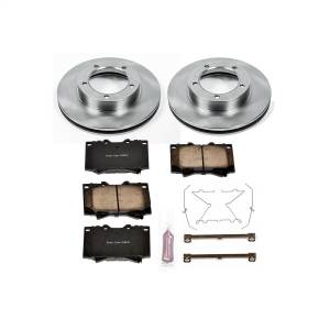 Brakes - Disc Brake Pad and Rotor Kit - Power Stop - Autospecialty By Power Stop 1-Click Daily Driver Brake Kits | Power Stop (KOE1132)