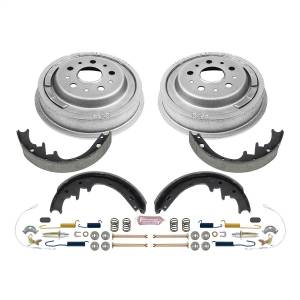Brakes - Drum Brake Shoe and Drum Kit - Power Stop - Power Stop 1-Click Daily Driver Drum And Shoe Kits | Power Stop (KOE15268DK)