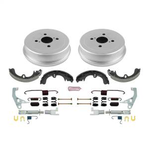 Brakes - Drum Brake Shoe and Drum Kit - Power Stop - Power Stop 1-Click Daily Driver Drum And Shoe Kits | Power Stop (KOE15303DK)
