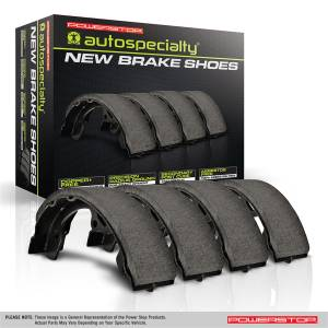 Brakes - Parking Brake Shoe - Power Stop - Autospecialty By Power Stop New Parking Brake Shoes | Power Stop (B1002)