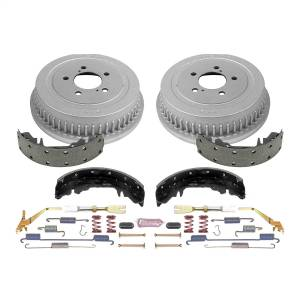 Brakes - Drum Brake Shoe and Drum Kit - Power Stop - Power Stop 1-Click Daily Driver Drum And Shoe Kits | Power Stop (KOE15267DK)
