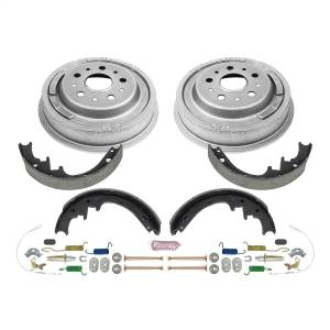 Brakes - Drum Brake Shoe and Drum Kit - Power Stop - Power Stop 1-Click Daily Driver Drum And Shoe Kits | Power Stop (KOE15269DK)