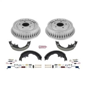 Brakes - Drum Brake Shoe and Drum Kit - Power Stop - Power Stop 1-Click Daily Driver Drum And Shoe Kits | Power Stop (KOE15276DK)