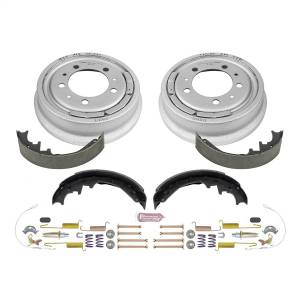 Brakes - Drum Brake Shoe and Drum Kit - Power Stop - Power Stop 1-Click Daily Driver Drum And Shoe Kits | Power Stop (KOE15277DK)