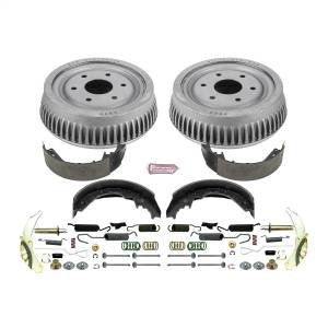 Brakes - Drum Brake Shoe and Drum Kit - Power Stop - Power Stop 1-Click Daily Driver Drum And Shoe Kits | Power Stop (KOE15285DK)