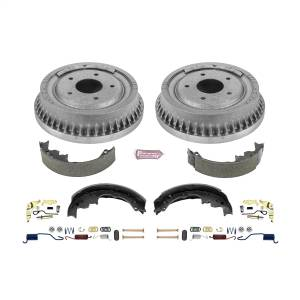 Brakes - Drum Brake Shoe and Drum Kit - Power Stop - Power Stop 1-Click Daily Driver Drum And Shoe Kits | Power Stop (KOE15289DK)