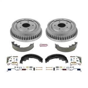 Brakes - Drum Brake Shoe and Drum Kit - Power Stop - Power Stop 1-Click Daily Driver Drum And Shoe Kits | Power Stop (KOE15290DK)
