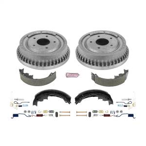 Brakes - Drum Brake Shoe and Drum Kit - Power Stop - Power Stop 1-Click Daily Driver Drum And Shoe Kits | Power Stop (KOE15291DK)