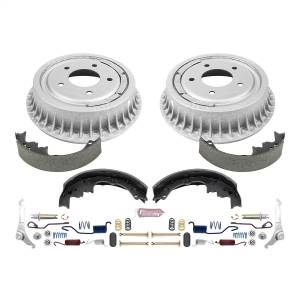 Brakes - Drum Brake Shoe and Drum Kit - Power Stop - Power Stop 1-Click Daily Driver Drum And Shoe Kits | Power Stop (KOE15292DK)
