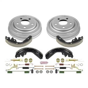 Brakes - Drum Brake Shoe and Drum Kit - Power Stop - Power Stop 1-Click Daily Driver Drum And Shoe Kits | Power Stop (KOE15294DK)