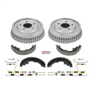 Brakes - Drum Brake Shoe and Drum Kit - Power Stop - Power Stop 1-Click Daily Driver Drum And Shoe Kits | Power Stop (KOE15305DK)