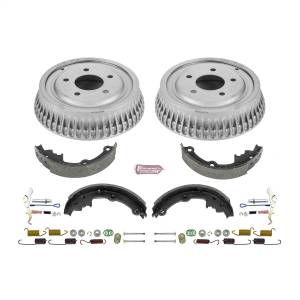 Brakes - Drum Brake Shoe and Drum Kit - Power Stop - Power Stop 1-Click Daily Driver Drum And Shoe Kits | Power Stop (KOE15306DK)