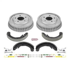 Brakes - Drum Brake Shoe and Drum Kit - Power Stop - Power Stop 1-Click Daily Driver Drum And Shoe Kits | Power Stop (KOE15308DK)