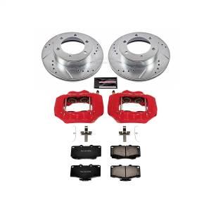Power Stop - Z23 Evolution Sport Performance 1-Click Brake Kit w/Calipers | Power Stop (KC1233A) - Image 1