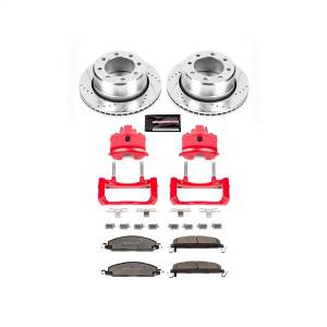 Power Stop - Z36 Extreme Performance Truck And Tow 1-Click Brake Kit w/Calipers | Power Stop (KC5487B-36) - Image 1