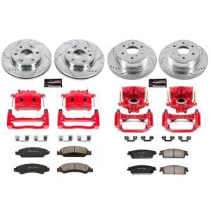 Power Stop - Z23 Evolution Sport Performance 1-Click Brake Kit w/Calipers | Power Stop (KC5520) - Image 1
