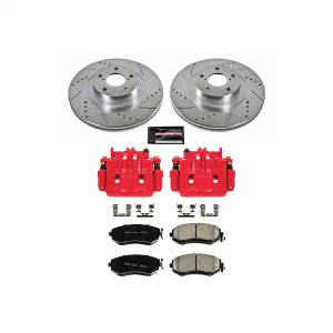 Power Stop - Z23 Evolution Sport Performance 1-Click Brake Kit w/Calipers | Power Stop (KC6082A) - Image 1