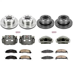 Power Stop - Autospecialty By Power Stop 1-Click OE Replacement Brake Kit w/Calipers | Power Stop (KCOE5458B) - Image 1