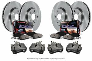 Power Stop - Autospecialty By Power Stop 1-Click OE Replacement Brake Kit w/Calipers | Power Stop (KCOE5458B) - Image 2