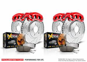 Power Stop - Z36 Extreme Performance Truck And Tow 1-Click Brake Kit w/Calipers   Power Stop (KC2068-36) - Image 2