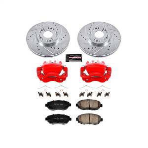 Power Stop - Z23 Evolution Sport Performance 1-Click Brake Kit w/Calipers | Power Stop (KC1077A) - Image 1