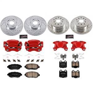 Power Stop - Z23 Evolution Sport Performance 1-Click Brake Kit w/Calipers | Power Stop (KC1079A) - Image 1
