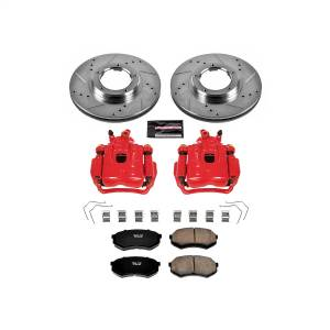 Power Stop - Z23 Evolution Sport Performance 1-Click Brake Kit w/Calipers | Power Stop (KC1232) - Image 1
