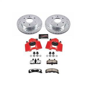 Power Stop - Z36 Extreme Performance Truck And Tow 1-Click Brake Kit w/Calipers   Power Stop (KC1970A-36) - Image 1