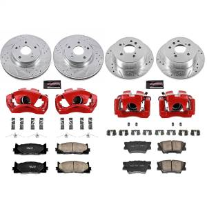 Power Stop - Z23 Evolution Sport Performance 1-Click Brake Kit w/Calipers | Power Stop (KC2822) - Image 1