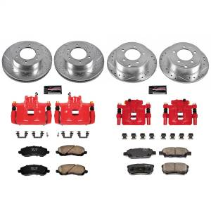 Power Stop - Z23 Evolution Sport Performance 1-Click Brake Kit w/Calipers | Power Stop (KC2840B) - Image 1