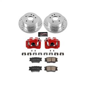 Power Stop - Z23 Evolution Sport Performance 1-Click Brake Kit w/Calipers | Power Stop (KC3068) - Image 1