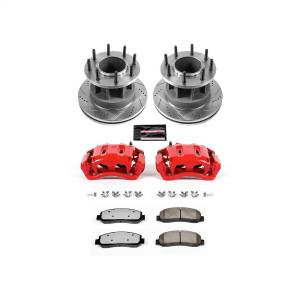 Power Stop - Z36 Extreme Performance Truck And Tow 1-Click Brake Kit w/Calipers | Power Stop (KC4595-36) - Image 1