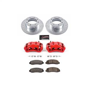 Power Stop - Z36 Extreme Performance Truck And Tow 1-Click Brake Kit w/Calipers | Power Stop (KC5412A-36) - Image 1