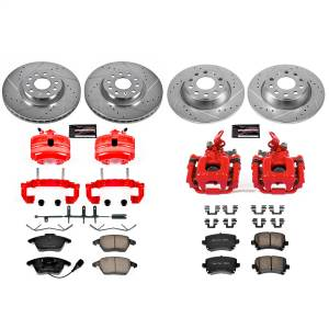 Power Stop - Z23 Evolution Sport Performance 1-Click Brake Kit w/Calipers | Power Stop (KC5798B) - Image 1