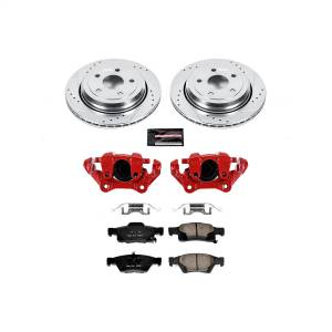 Power Stop - Z23 Evolution Sport Performance 1-Click Brake Kit w/Calipers | Power Stop (KC5953) - Image 1