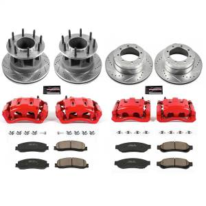 Power Stop - Z23 Evolution Sport Performance 1-Click Brake Kit w/Calipers | Power Stop (KC6527) - Image 1