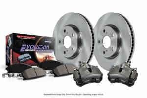 Power Stop - Autospecialty By Power Stop 1-Click OE Replacement Brake Kit w/Calipers   Power Stop (KCOE7380) - Image 2