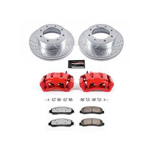 Power Stop - Z36 Extreme Performance Truck And Tow 1-Click Brake Kit w/Calipers | Power Stop (KC1781A-36) - Image 1