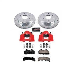 Power Stop - Z23 Evolution Sport Performance 1-Click Brake Kit w/Calipers | Power Stop (KC1970A) - Image 1