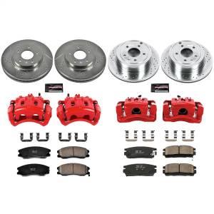 Power Stop - Z23 Evolution Sport Performance 1-Click Brake Kit w/Calipers | Power Stop (KC2091) - Image 1