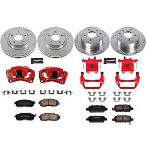 Power Stop - Z23 Evolution Sport Performance 1-Click Brake Kit w/Calipers | Power Stop (KC242) - Image 1
