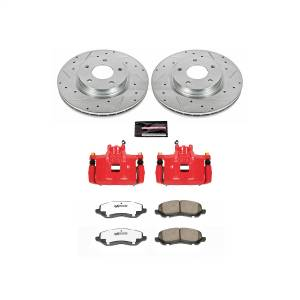 Power Stop - Z26 Extreme Street Warrior 1-Click Brake Kit w/Calipers | Power Stop (KC3032B-26) - Image 1