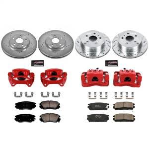 Power Stop - Z23 Evolution Sport Performance 1-Click Brake Kit w/Calipers | Power Stop (KC5516) - Image 1