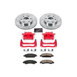 Power Stop - Z23 Evolution Sport Performance 1-Click Brake Kit w/Calipers   Power Stop (KC5519) - Image 1