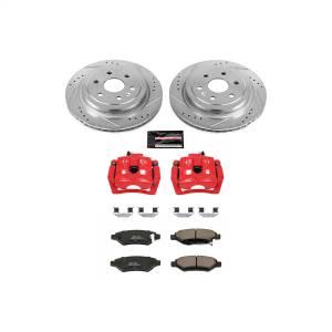 Power Stop - Z23 Evolution Sport Performance 1-Click Brake Kit w/Calipers | Power Stop (KC5543) - Image 1