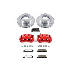 Power Stop - Z36 Extreme Performance Truck And Tow 1-Click Brake Kit w/Calipers | Power Stop (KC6545A-36) - Image 1