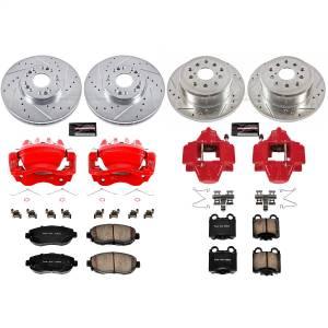Power Stop - Z23 Evolution Sport Performance 1-Click Brake Kit w/Calipers | Power Stop (KC1079) - Image 1