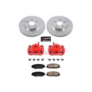 Power Stop - Z23 Evolution Sport Performance 1-Click Brake Kit w/Calipers | Power Stop (KC3054A) - Image 1