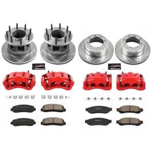 Power Stop - Z23 Evolution Sport Performance 1-Click Brake Kit w/Calipers | Power Stop (KC5517) - Image 1